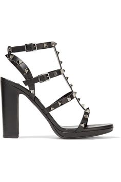 Shop on-sale Valentino Rockstud leather sandals. Browse other discount designer Sandals & more on The Most Fashionable Fashion Outlet, THE OUTNET.COM