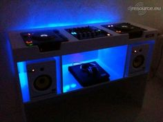Nightime DJ Booth