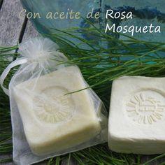 Jabón termal de cola de caballo con aceite de oliva y rosa mosqueta