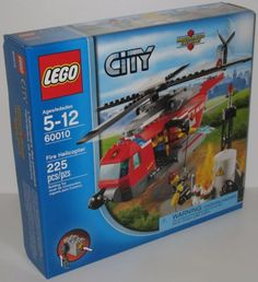 Lego City Fire Helicopter set 60010.