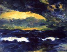 Emil Nolde (1867-1956) - Light Breaking Through (Durchbrechendes Licht), N/D