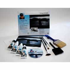Weber Wyland Great Whale Tail Painting Kit