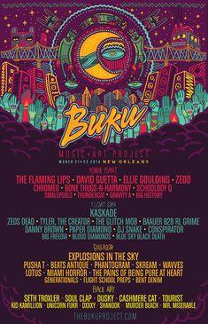 BUKU 2014 - Beats Antique, Zeds Dead, Tyler the Creator, Glitch Mob, Baauer, RL Grime, Paper Diamond, Flaming Lips, Chromeo, Thundercat...