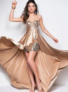 Charming Sweetheart Sheath Asymmetry Lengh Evening/Prom Dress Evening Dresses 2014- ericdress.com 10902684
