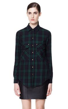 Image 1 of CHECKED SHIRT from Zara $60