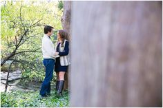 Brad + Michelle's Romantic Engagement session in Dallas, TX