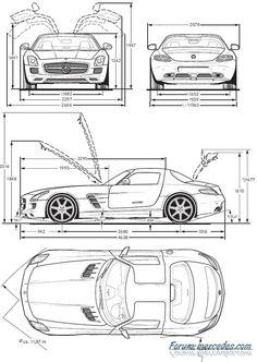 2012 Audi A6 Avant side and top dimensions. | teknik resim ...