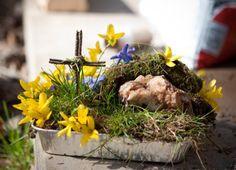 The 92 best Easter Garden Ideas images on Pinterest | Easter garden ...