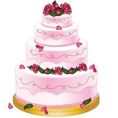 Pretty beautifull shareable photo taken on my uncles birthday just this morning. Extravagant Wedding Cakes, Cool Wedding Cakes, Wedding Cake Designs, Cake Clipart, Food Clipart, Snow Cone Stand, Snow Cones, Vintage Bakery, Cake Stock