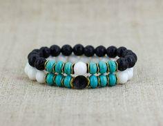 Girlfriend gift-for-boyfriend gift Yoga gift Couples bracelet