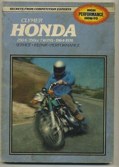 #vintage #floyd #clymer #honda #motorcycle #race #book #vintage #70s