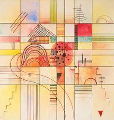 "Wassily Kandinsky - ""Varied Rectangles"", 1929"
