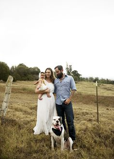Rustic Maui family photos