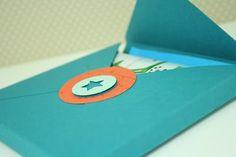 Verpackung für das neue Umschlagbrett