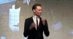 Tom Hiddleston Defies All Odds And Does His Most Amazing Thing Yet --- gif set