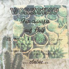 Workshops - Machwerk
