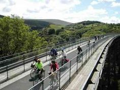 Meldon Viaduct on the Granite Way, Dartmoor National Park, https://www.cycledevon.info/cycle-routes/