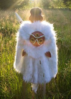 Princess Mononoke cosplay by me, Jeninator. Back and mask. #cosplay #costume…