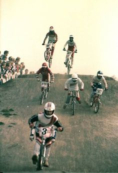 80's BMX racing.