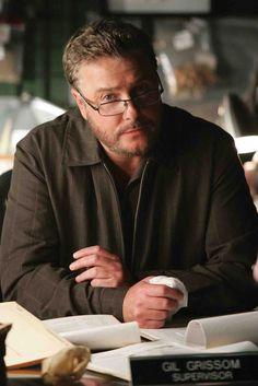William Petersen as Gil Grissom, CSI