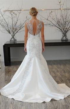2013 wedding dress: lace tattoos
