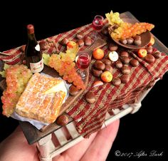 Luxury Provincial French Cheese & Chestnuts, This is set on a fine English Artisan made Italian table ♡ ♡By After Dark