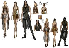 Clothing Designs from Mabinogi II: Arena