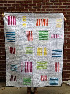 August 2014 Harmony. do good stitches - Improv Stripes | Flickr - Photo Sharing!