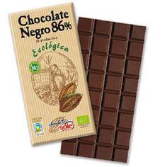 Chocolate negro 86% Ecológico 100gr