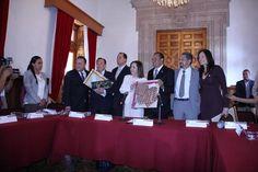 La Junta de Coordinación Política del Congreso del Estado recibió a la alcaldesa de Madrigal de las Altas Torres, Ana Isabel Zurdo Manso – Morelia; Michoacán, 15 de marzo de ...