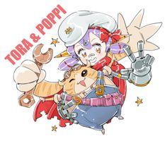 Tora & Poppi (Xenoblade Chronicles 2)