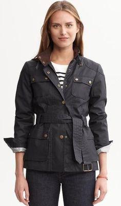 Holiday 2012- Waxed field jacket
