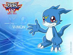 Digimon Dragon's Shadow: V-mon
