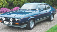 Ford Capri - if I ever am fortunate enough to win the lottery, this is the first thing I'd buy, even over a Rolex watch. Classic Cars British, Ford Classic Cars, Mercury Capri, Porsche 914, Ford Capri, Classic Motors, Ford Escort, Top Cars, Ford Motor Company