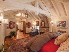 Antique Barnboard Oak Flooring traditional bedroom