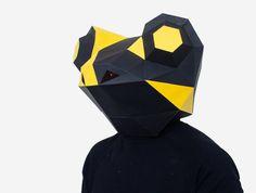 Salamander / Frog Mask DIY printable Animal by AwesomePatterns