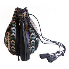 Wendy Nichol Aztec bullet bag, $995 wendynicholnyc.com