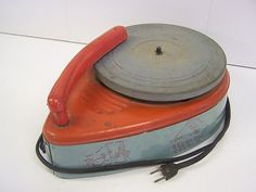 General Electric Tin Litho Record Player