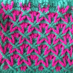 LiliaCraftParty: Star Crochet Stitch Free Pattern                                                                                                                                                                                 More