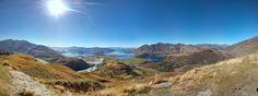Lake Wanaka from Diamond Lake Trail New Zealand [OC] [2675x1000]