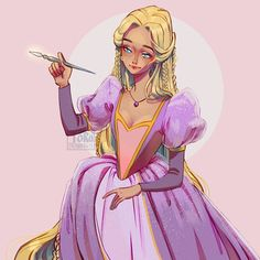 Barbie Princess, Disney Princess, Rapunzel Barbie, Rapunzel Story, Arte Disney, Disney Magic, Pink Wallpaper Barbie, Barbie Pegasus, Barbie Drawing