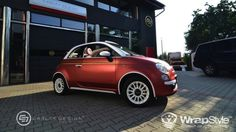 Fiat 500C by Wrapstyle and Carlex Design