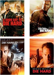 Get your Bruce Willis fix with our 'Die Hard' collection On Demand.