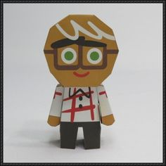 LINE Cookie Run - Hero Cookie Ver.2 Free Papercraft Download - http://www.papercraftsquare.com/line-cookie-run-hero-cookie-ver-2-free-papercraft-download.html