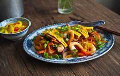 """Veggie Mad? Try These Sweet Potato """"Hokkien Style"""" Noodles"""