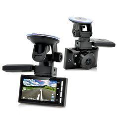 InCarDVR BlackBox-1080p,Mot.Det,G-Sens,GPS Funct,2xMicSDslots Great Xmas Gift...