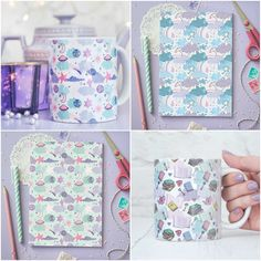 With Love for Books: Jilly Jilly Mugs & Notebooks Giveaway