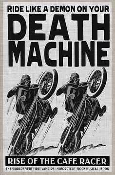 Cafe racer Death Machine