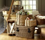 baskets...for storage, utility, texture, beauty and just because