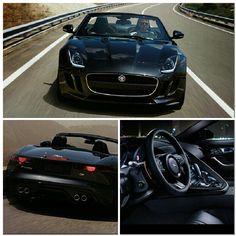 Jaguar F-Type Black on Black
